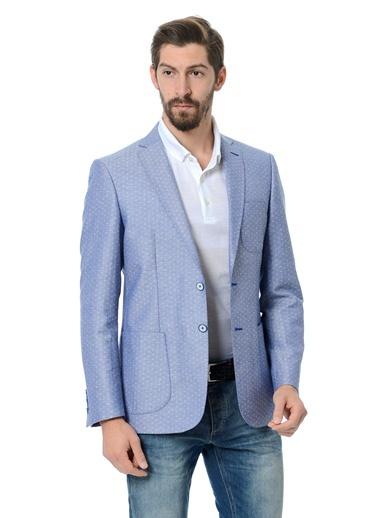 Daffari - Puantiyeli Blazer Ceket